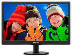 Monitor para PC LCD Philips 193V5LSB2/77 1366 px x 768 px