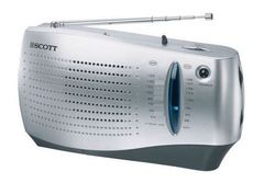 Radio Scott RX15 Compacta Analógica